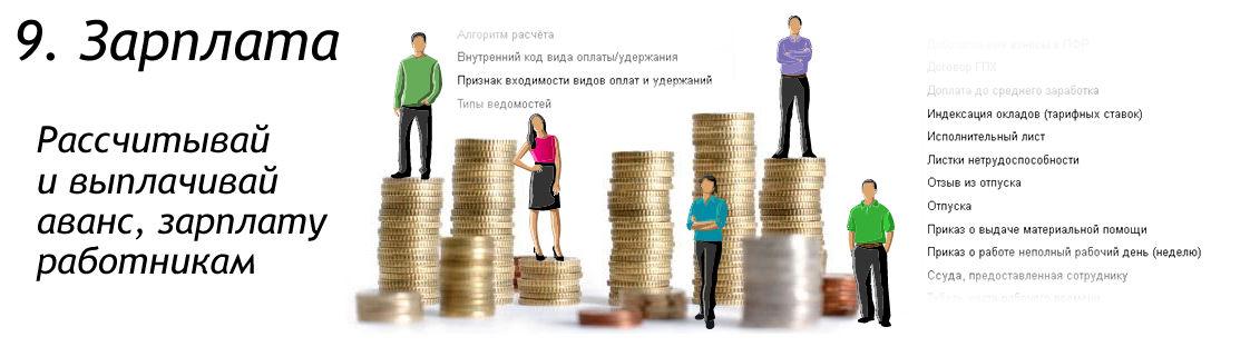 Расчет зарплаты